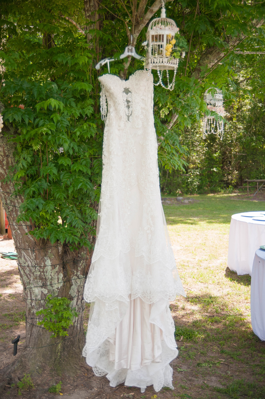 cleveland texas backyard wedding katie joe dianne leigh