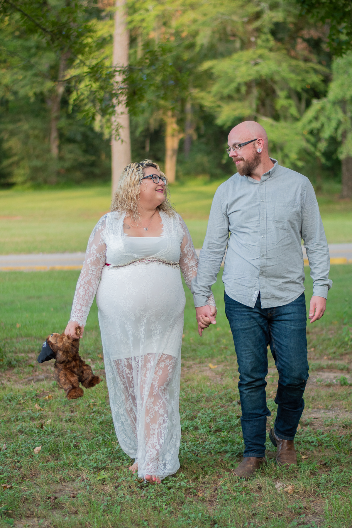spring creek park maternity portraits tomball texas