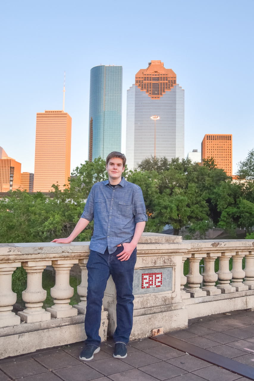 Houston Senior Photographer Buffalo Bayou Park 103